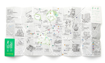 6×6 ROPPONGI DESIGN & ART MAP